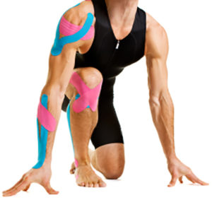 Kinesiology Therapeutic (KT) tape